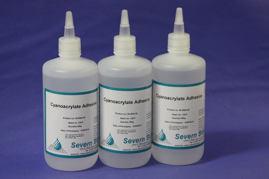 Cyano-acrylate(Super Glue Vapour-Ethyl Cyano-acrylate Adhesivie)
